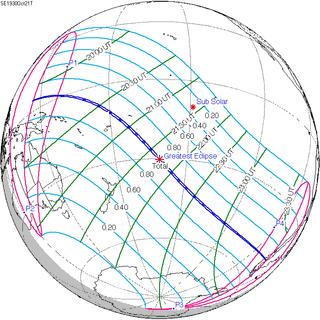 Solar eclipse of October 21, 1930