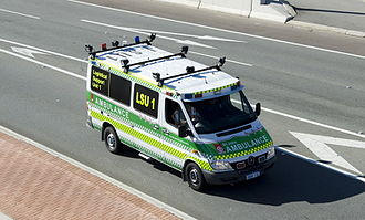St John Ambulance Australia - WA Logistic Support Vehicle