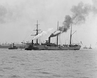 SMS <i>Seeadler</i> unprotected cruiser of the Bussard class