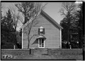 SOUTH FRONT - Blackwater Presbyterian Church, State Road 54, Clarksville, Sussex County, DE HABS DEL,3-CLAVI.V,1-2.tif