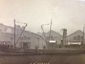SS Cushag - Image: SS Cushag at the Office Berth, Douglas