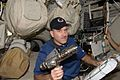 STS-125 Grunsfeld prepares a power tool.jpg