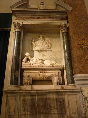 Santa Maria dell'Anima - Tomb of Cardinal Willem van Enckevoirt