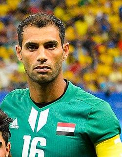 Saad Abdul-Amir Iraqi footballer