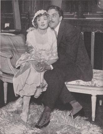 Sadie Love (play) - Marjorie Rambeau and Pedro de Cordoba as Sadie Love and Prince Luigi