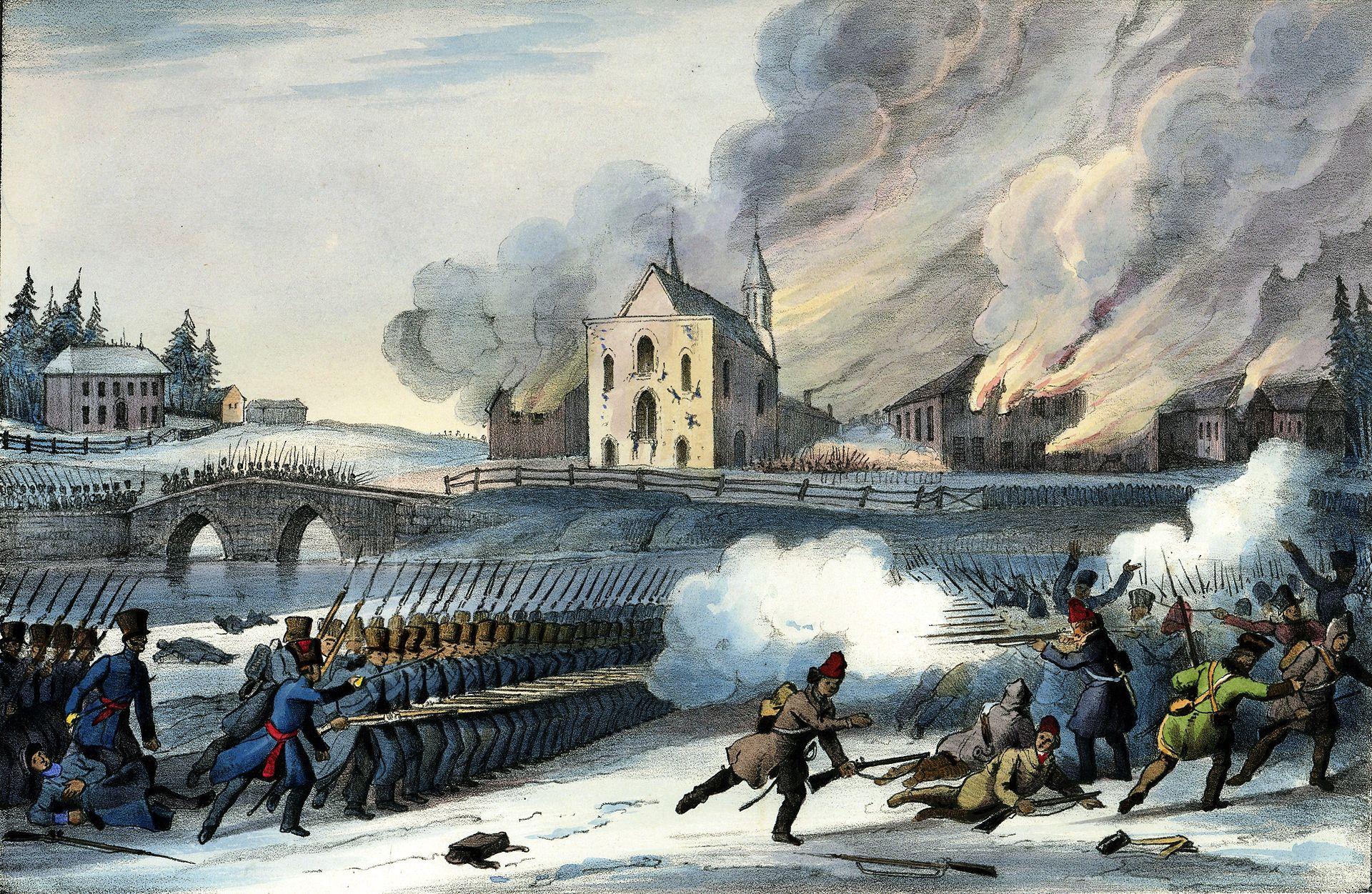 Bataille de saint eustache wikip dia for Domon saint eustache