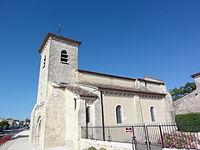 Saint-Martin-Lacaussade (Gironde) église, extérieur.JPG