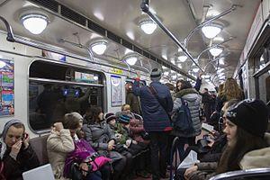 Saint Petersburg Metro - Kirovsko-Vyborgskaya Line
