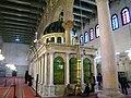 SaintJohnBaptistShrine in Umayyad mosque Damascus Syria.JPG