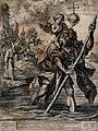 Saint Christopher. Engraving by G.B. Vrints, 1586, after H. Wellcome V0031879.jpg