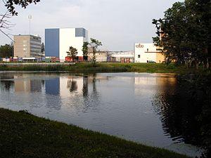 Saku Brewery - A view of the Saku Brewery (2004).