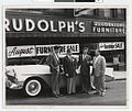 Salesmen in front of Rudolph's Furniture Store, Duluth.jpg