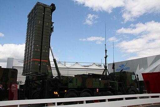 باريس تعرض على أنقرة نشر منظومة الدفاع الجوي SAMP-T  في تركيا 512px-Salon_du_Bourget_20090619_108