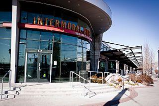 intermodal transit center in Salt Lake City, Utah, United States