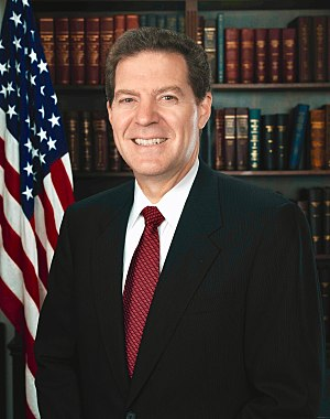 United States Senate special election in Kansas, 1996 - Image: Sam Brownback official portrait 3