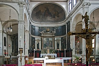 San Giovanni Grisostomo, Venice - Image: San Giovanni Grisostomo (interno)