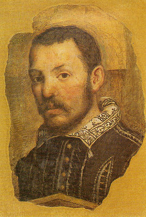 Lattanzio Gambara - Self-portrait
