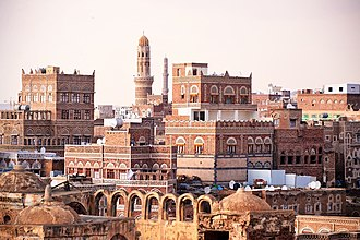Sanaʽa - Image: Sana'a, Yemen (14667934933)