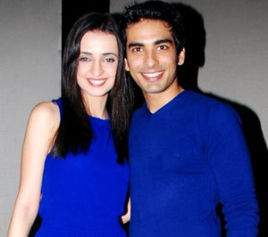 Sanaya Irani - Irani with her husband and actor Mohit Sehgal