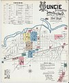 Sanborn Fire Insurance Map from Muncie, Delaware County, Indiana. LOC sanborn02433 004-1.jpg