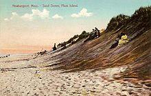 Sand Dunes In 1908 South Beach Plum Island