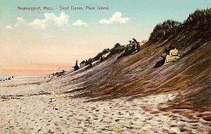 Plum Island (Massachusetts) - Sand dunes in 1908