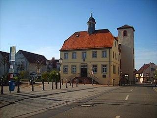 Sandhausen Place in Baden-Württemberg, Germany