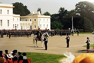 Royal Military Academy Sandhurst - Passing out parade
