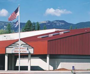 Sandpoint High School - Image: Sandpoint High Exterior