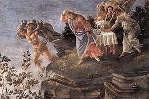 The Temptation of Christ (detail 6)