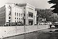 Sarajevo Tram City-Hall Vijecnica 1950s.jpg