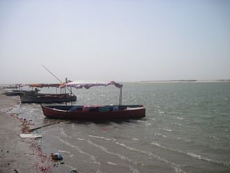 Ghaghara - Ghaghara River in Faizabad is also known as Sarayu river