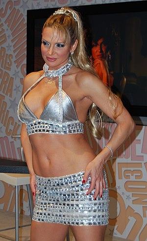 Savanna Samson - Samson at the 2008 Adult Entertainment Expo