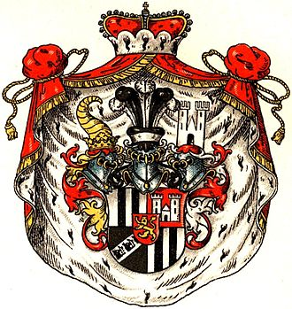 Sayn-Wittgenstein-Berleburg - The coat of arms of the Princes of Sayn-Wittgenstein-Berleburg