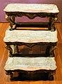 Scaletta da biblioteca, legno di noce, parigi, 1730 ca.jpg