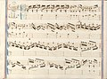 partition manuscrite