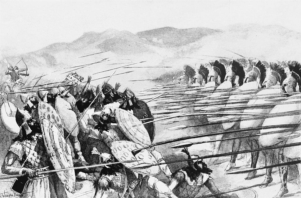 Scene of the Battle of Plataea