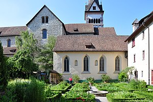 Kloster Allerheiligen, Schaffhausen - the former monastery's garden, as of today a herbal garden