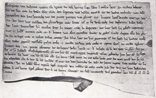 Schepenbrief van Bochoute