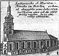 Schleuen - Lutherische S.Marien-Kirche 1757.jpg