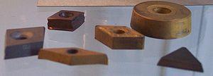 Cemented carbide - Tungsten-carbide inserts