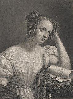 Wilhelmine Schröder-Devrient German opera soprano