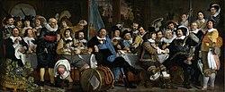 Bartholomeus van der Helst: Banquet at the Crossbowmen's Guild in Celebration of the Treaty of Münster