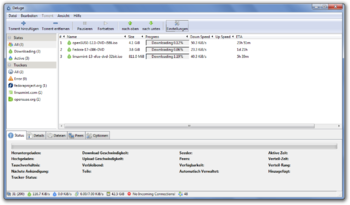 Deluge 1.3.5 unter Windows 7