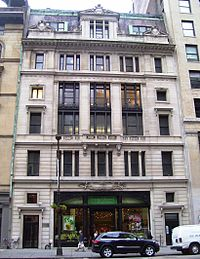 A Photo of the Scribners Publishing building in NY.