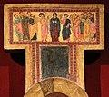 Scuola pisana, crocifisso triumphans con scene della passione, 1230-40 ca. 02.jpg