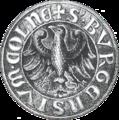 Seal Cölln (Mark Brandenburg) 1442.png