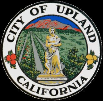Upland, California - Image: Seal of Upland, California
