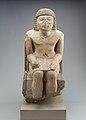 Seated Statue of the Nomarch Idu II of Dendera MET 98.4.9 EGDP019056.jpg