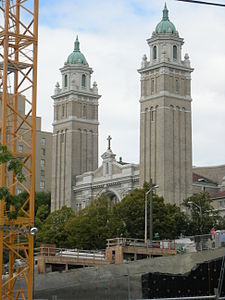Seattle - St. James across construction site.jpg